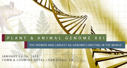 Plant and Animal Genomes conference, aka PAG XXI