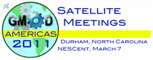 Satellite Meetings at GMOD Americas 2011