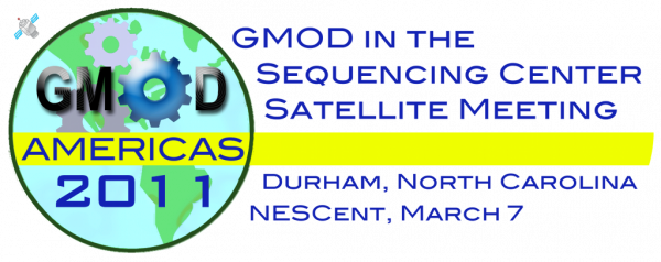 GMOD in the Sequencing Center Satellite Meeting